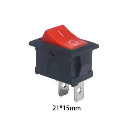 Rocker On-Off Anahtar(6A 250V 2 Pin)